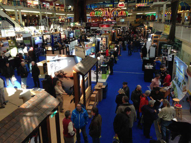 The national outfitter 39 s hunting and fishing show qu bec for Hunting and fishing show