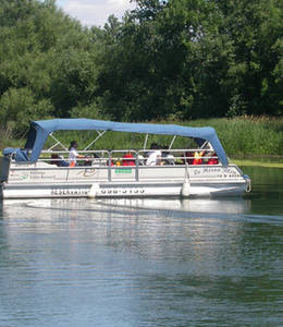 Héritage Saint-Bernard - Pontoon tours on the Châteauguay river
