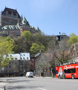 Combo Cruise and Hop-On Hop-Off 2 days (Québec)
