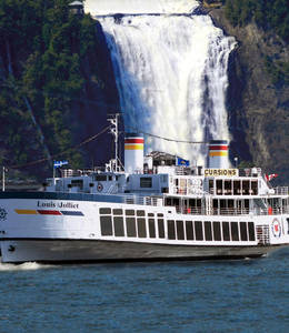 Cruise and Red Bus Tour Package (Québec)