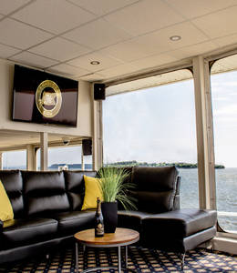 Whale Watching Cruise - VIP St-Laurent Lounge (Baie-Sainte-Catherine)