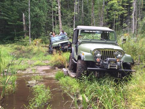 Jeep hors route
