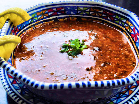 Soupe tunisienne