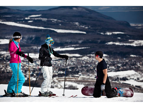 Ski de printemps Mont-Sainte-Anne