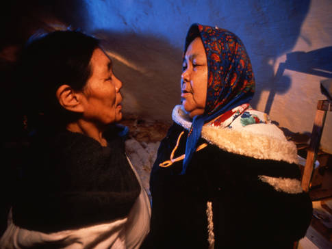 Chants de gorge Inuit
