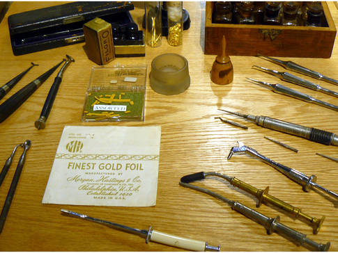 Instruments anciens - dentisterie