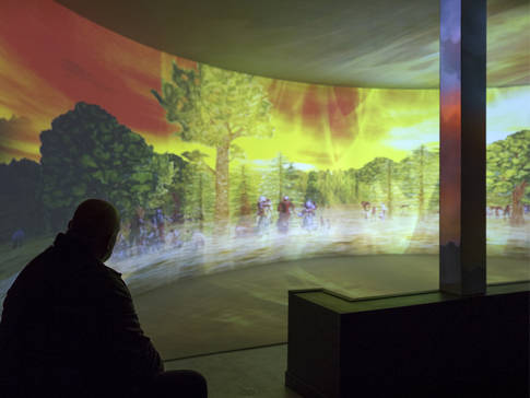 Projection immersive
