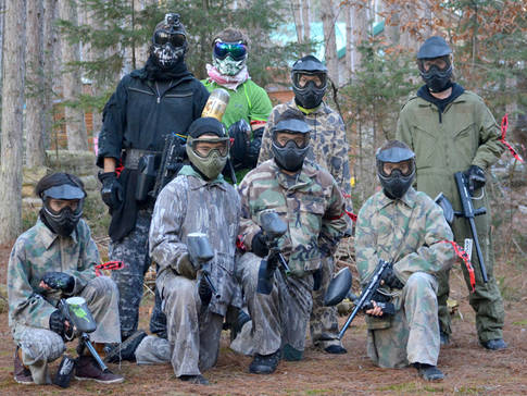 Groupe de paintball