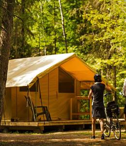 CAMPING PARC NATIONAL DES MONTS-VALIN