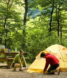 CAMPING PARC NATIONAL DU MONT-ORFORD LAC STUKELY