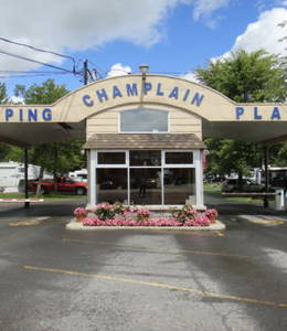 CAMPING PLAGE CHAMPLAIN