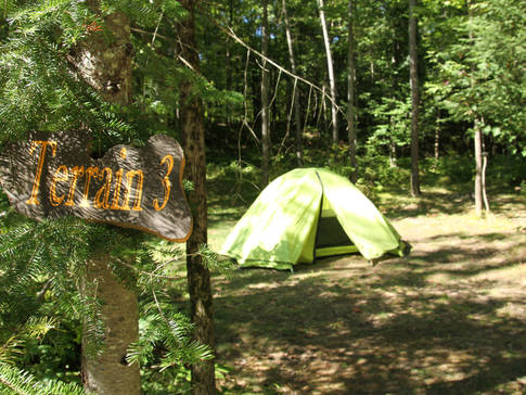 Notre camping inclus avec tous forfaits Rafting
