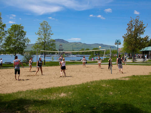 Volley-ball Pointe Merry