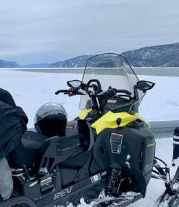 Snowmobile package—3 nights in the backcountry
