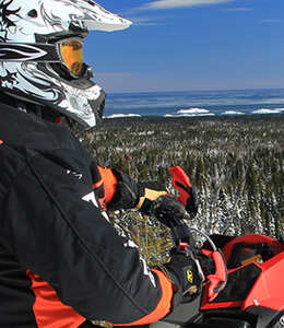 Snowmobile package—In the footsteps of Jos Hébert