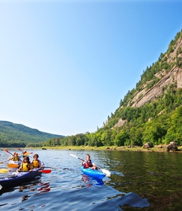 Discovering the Saguenay fjord